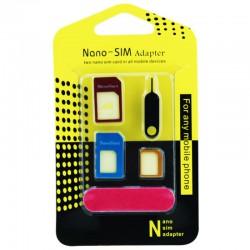 4-in-1 Nano SIM Card Adapter