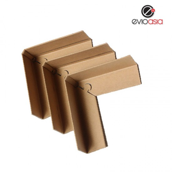 (12pcs) 90 degree Corrugated Paper Lock Style Corner Protector Angel Corner Protector 70mm