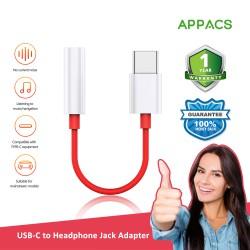 APPACS Type-C to Headphone Jack Adapter