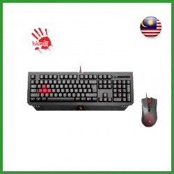 BLOODY B1500 Gaming Blazing Desktop Combo Set of Mouse & Keyboard