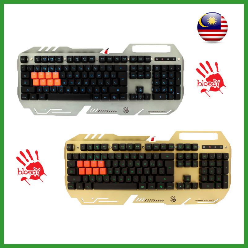 34db7385234 Bloody Light Strike 8-Infrared Switch Gaming Keyboard B418
