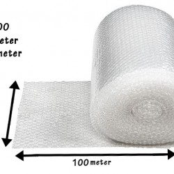 Single Layer Bubble Wrap Roll (1Meter x 100Meter)