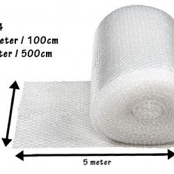 (1 Meter x 5 Meter) Evio Asia Single Layer Bubble Wrap Roll