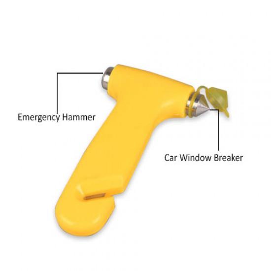 2 in 1 Safety Car Hammer