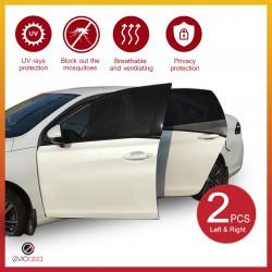 (2 PCS) Car Window Sun Shade Mesh Cover