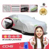 Evio Asia Full Reflective Car Cover with Side Door Zipper UV Rain Dust Sunlight Protection -Model CCHS