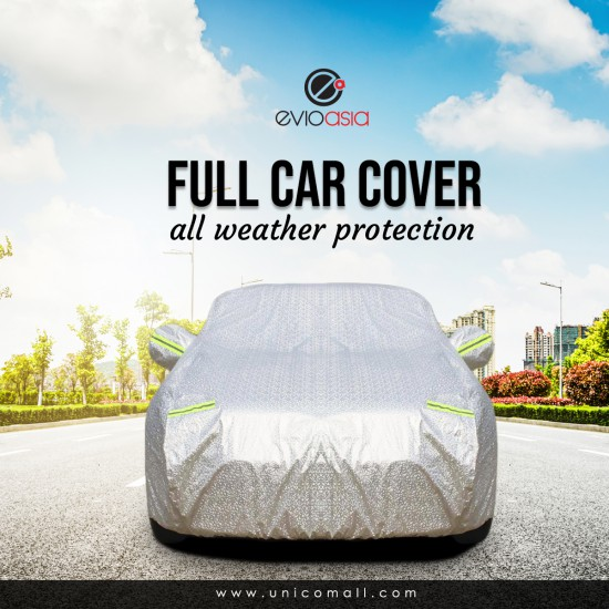 Car Cover Rain Dust Sunlight Protection (Model CCHS)