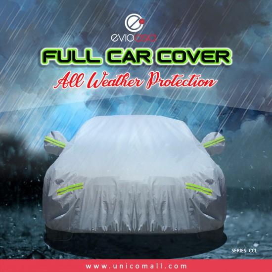 Evio Asia Full Car Cover Rain Dust Protection -Model CCL