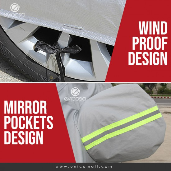 Car Cover Rain Dust Sunlight Protection (Model CCL)