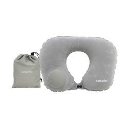 Casetec U-Shape Air Pump Inflatable Travel Neck Pillow