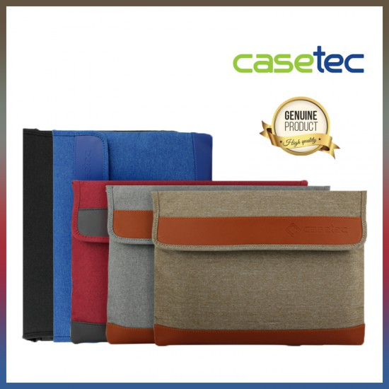 "CASETEC Primero Series 13.3"", 14"", 15.6"" , 17"" Laptop Sleeve / Briefcase"