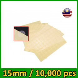 Clear Round Stickers - Diameter 15mm/20mm (1 pack = 10,000pcs little stickers)