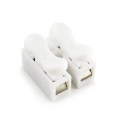 Electrical Lighting 2 Pin Quick Cable Connectors Cable Clip (10 units/pack)