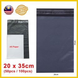(20cm x 35cm) Courier Plastic Flyer / Courier Bag / Beg Kurier / Courier Plastic Bag / 快递袋