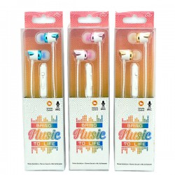 DIID Music in-ear earphone with Mic ID60 for All Mobile Phone