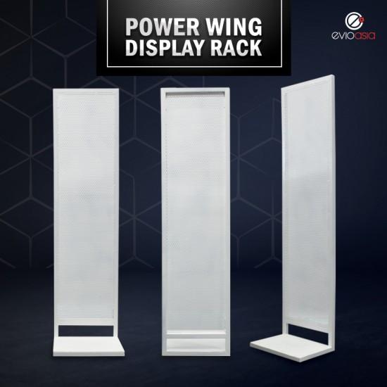 In-Store Retail Power Wing Sidekick, Display Rack, Display Standee