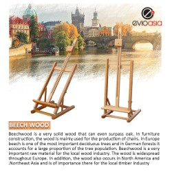 Beech Wood Artist Painting Display Easel Stand