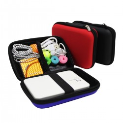 2.5 inch External Hard Disk, Powerbank Case, Protect Carry Pouch Bag