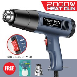 Heat Gun / Hot Air Gun, Temperature 60-600°C