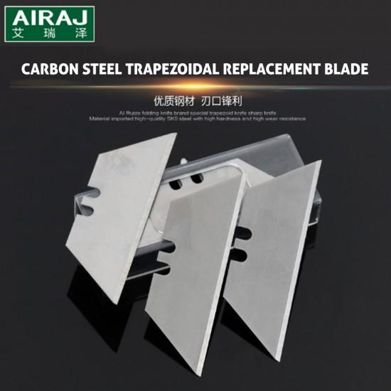 Trapezoid Knife Replacement Blades, 5pcs/Box