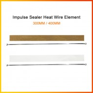 300/400mm Impulse Sealer Heat Wire Element Heating Plate Strip Sealing Machine
