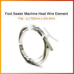 700mm x 5mm Foot Sealer Machine Heat Wire Element (Flat Wire)