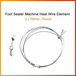 700mm Foot Sealer Machine Heat Wire Element (Round Wire)
