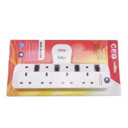 4 Way Adapter (SIRIM Certified)