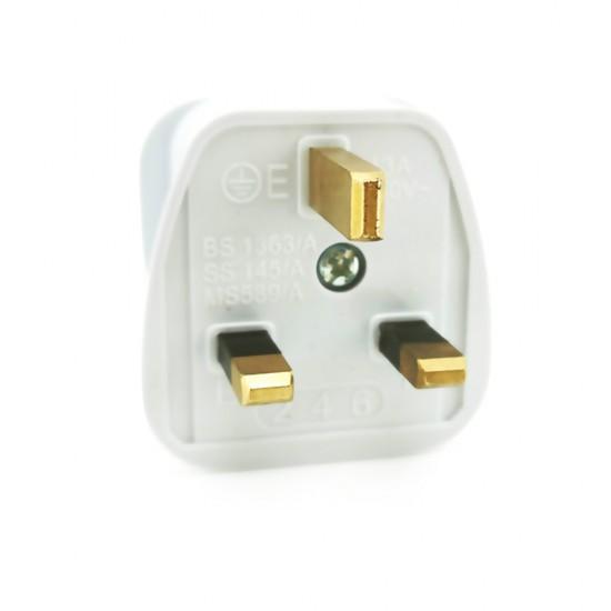 13 Amp 3 Pin Plug Top (Original With Sirim)