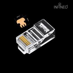 INFINEO Cat5 RJ45 Connector 10pcs