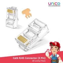 INFINEO Cat6 RJ45 Connector 20pcs