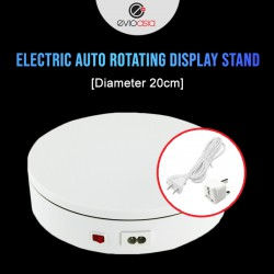 Electric Auto Rotating Display Stand (Diameter 20cm)