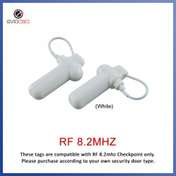 EAS RF 8.2MHz Anti Theft Security Watch & Jewelry Tag with Lanyard Pin