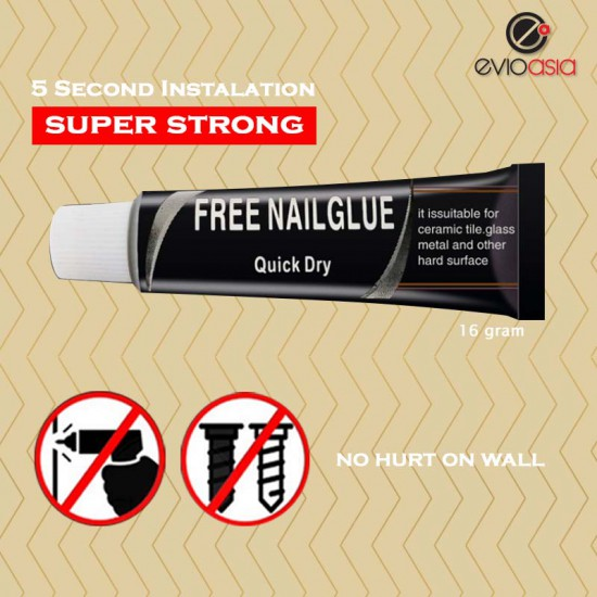 12G SUPER STRONG QUICK DRY NAIL FREE GLUE