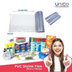 PVC Shrink Film for Packaging (50cm Width x 10m Length)