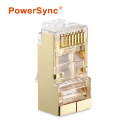 PowerSync CAT7 Crystal Modular Connector Plug (10pcs)