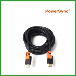 PowerSync 3D High Speed HDMI A Male to A Male Cable (1.8m)