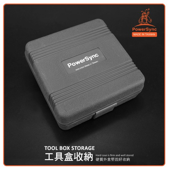 PowerSync 25 Pcs Concrete Drills and Screwdriver Bit Set