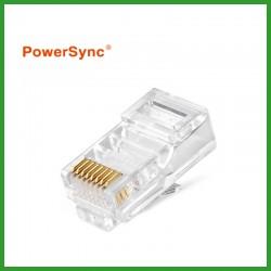 PowerSync Cat5/5e Modular Plugs Socket Network Ethernet Crystal Plug RJ45 (100pcs)