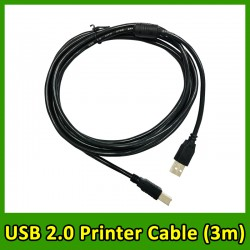 (3m/5m) USB 2.0 High Speed Printer Cable A to B Male