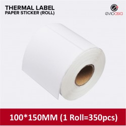 Thermal Label Sticker Roll 100mm x 150mm (350pcs)