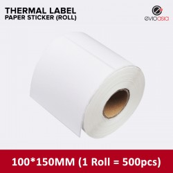 Thermal Label Sticker Roll 100mm x 150mm (500pcs)