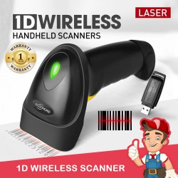 Wireless Barcode Scanner 1D