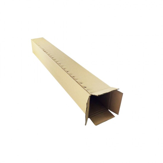 (1230mm x 135mm x 150mm, Set of 15) Long Cardboard Carton Box Single Wall Rectangle Cardboard Shipping Box Kotak