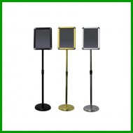 A4 Display Stand Adjustable Height Round Corner Easy Snap Frame Poster