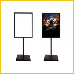 Evio Asia Metal Poster Display Single Stand