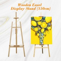 Wooden Easel Stand 150cm for Painting Display Decoration Menu