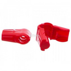 (50pcs/100pcs) Evio Asia Anti-Theft Security 6mm Stop Lock, Red