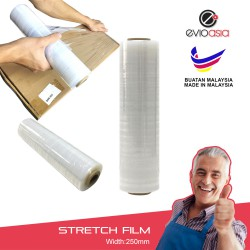 (250mm,600g) Evio Asia Packaging Stretch Film, Wrapping Plastic Film