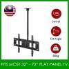 LCD LED TV Tilt Ceiling Wall Mount TV Bracket fits most 32''-72''